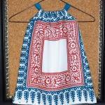 Girl's smock apron style dress or t..